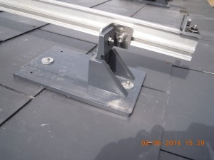 solar limpet roof fixing